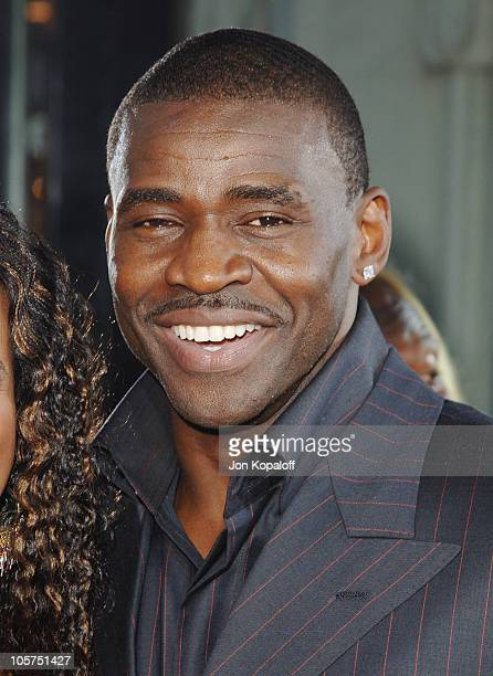 Michael Irvin during 'The Longest Yard' Los Angeles Premiere Arrivals at Grauman's Chinese Theater in Hollywood California United States