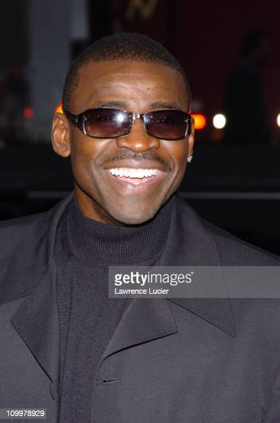 Michael Irvin during The Longest Yard New York City Premiere at Clearview's Chelsea West Cinema in New York City New York United States