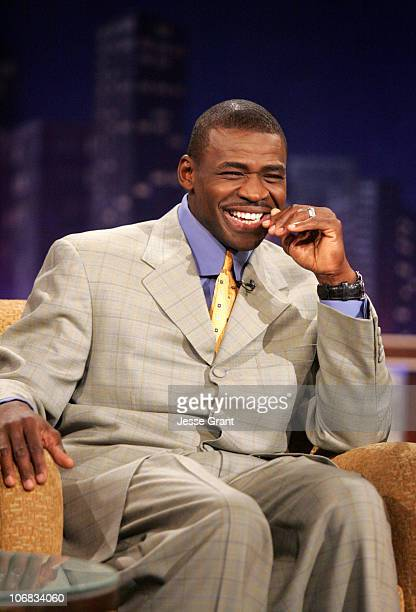 Michael Irvin on the 'Jimmy Kimmel Live' show on ABC Photo by Jesse Grant/WireImagecom/ABC