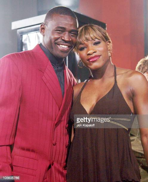 """Michael Irving and Serena Williams during """"Friday Night Lights"""" - World Premiere at Grauman's Chinese Theatre in Hollywood, California, United States."""