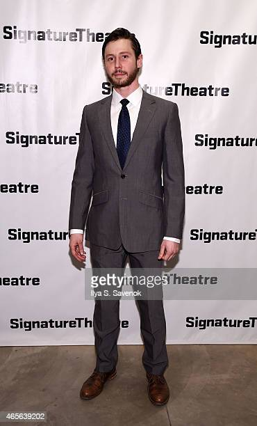 Michael Izquierdo attends 'The Liquid Plane' Opening Night Party at Signature Theatre Company's The Pershing Square Signature Center on March 8 2015...