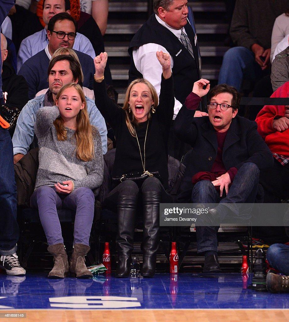 Celebrity Sightings In New York City - January 9, 2014