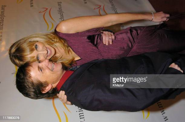 Michael J Fox and wife Tracy Pollan during A Funny Thing Happened on the Way to Cure Parkinson's A Benefit Evening for the Michael J Fox Foundation...
