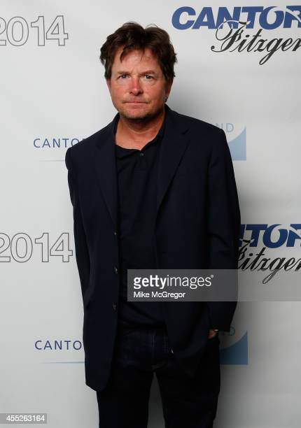 Michael J. Fox attends Annual Charity Day Hosted By Cantor Fitzgerald And BGC at Cantor Fitzgerald on September 11, 2014 in New York City.