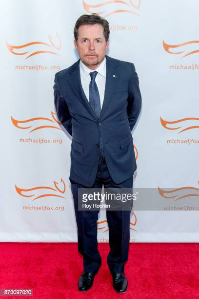 Michael J Fox attends the 2017 a funny thing happened on the way to cure Parkinson's benefitting The Michael J Fox Foundation at the Hilton New York...