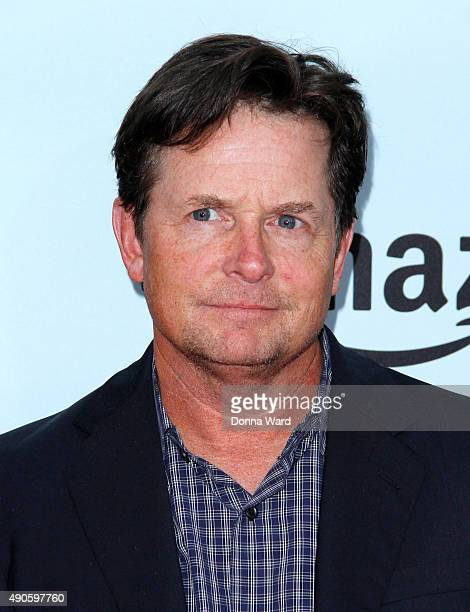 Michael J Fox attends the Amazon Red Oaks premiere screenning at Ziegfeld Theater on September 29 2015 in New York City