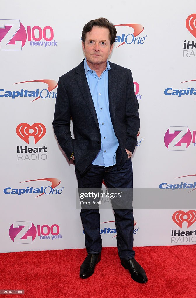 Michael j fox attends z100 39 s jingle ball 2015 at madison square news photo getty images for Jingle ball madison square garden