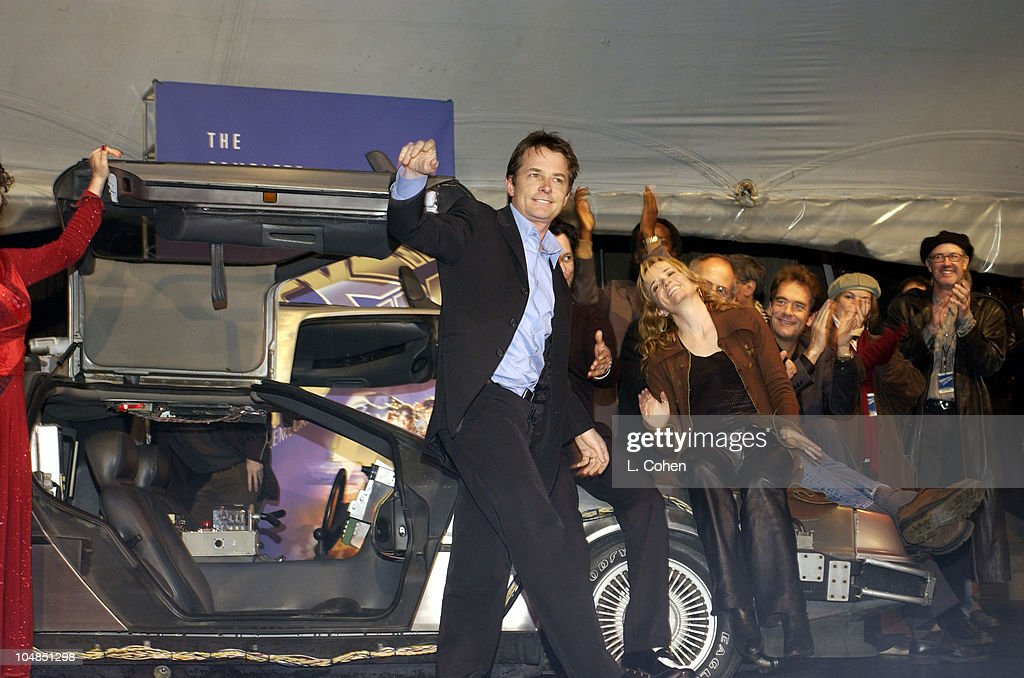 """""""Back To The Future"""" Reunion And DVD Launch Party : News Photo"""