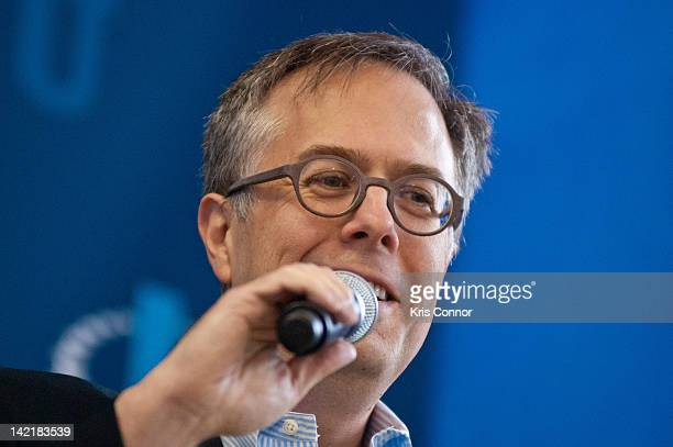 Michael J Gerson speaks during a panel discussion during the 5th annual 2012 Clinton Global Initiative University meeting at George Washington...