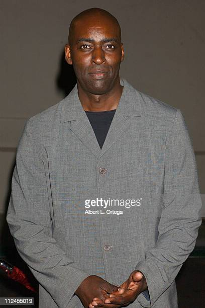 """Michael Jace during """"The Shield"""": Season Three Premiere Screening at The Zanuck Theater in West Los Angeles, California, United States."""