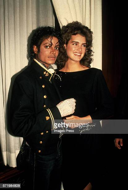 Michael Jackson and Brooke Shields circa 1984 in New York City