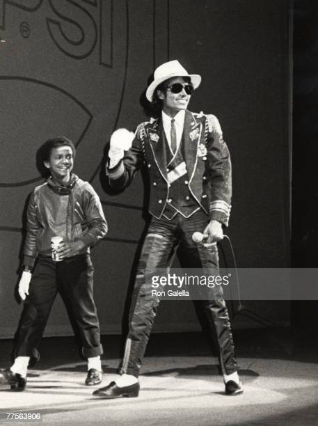Michael Jackson and Dancer from Pepsi Commercial