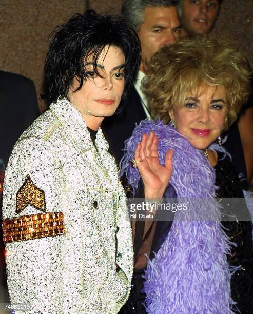 Michael Jackson and Elizabeth Taylor at the Michael Jackson Tribute Celebrating 30th Anniversary of His Solo Years at Madison Square Garden in New...