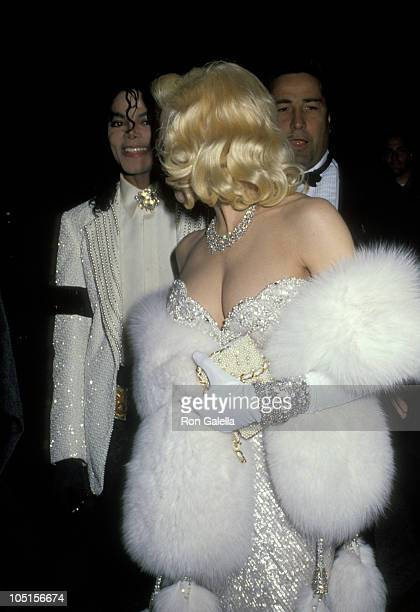 Michael Jackson and Madonna during 63rd Annual Academy Awards After Party at Spago's Hosted by Swifty Lazar at Spagos in West Hollywood California...
