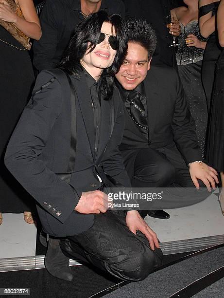 Michael Jackson and Prince Azim