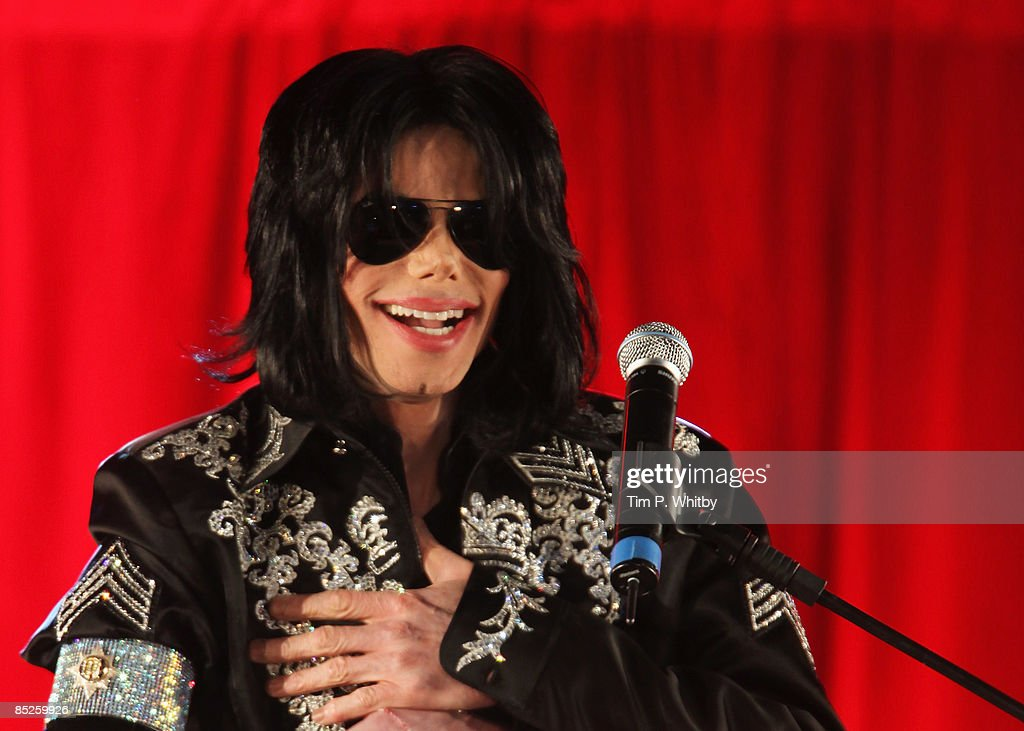 Michael Jackson Announces Plans For Summer Residency At The O2 Arena : News Photo