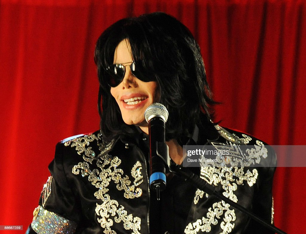 Michael Jackson announces plans for Summer residency at the O2 Arena at a press conference held at the O2 Arena on March 5, 2009 in London, England. Jackson, 50, the iconic pop star, died after going into cardiac arrest in a hospital on June 25, 2009 in Los Angeles, California.