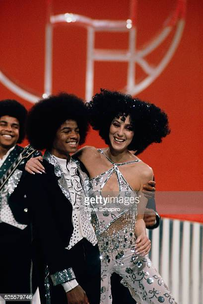 Michael Jackson appears with the Jackson Five on the Sonny and Cher Comedy Hour