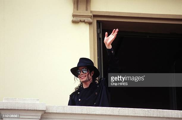 Michael Jackson at Lumiere Institute in Lyon France on June 13 1997