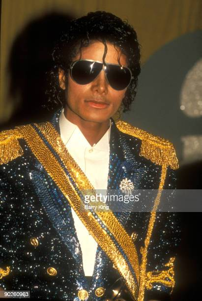 Michael Jackson at the Grammys in Los Angeles California on February 28 1984
