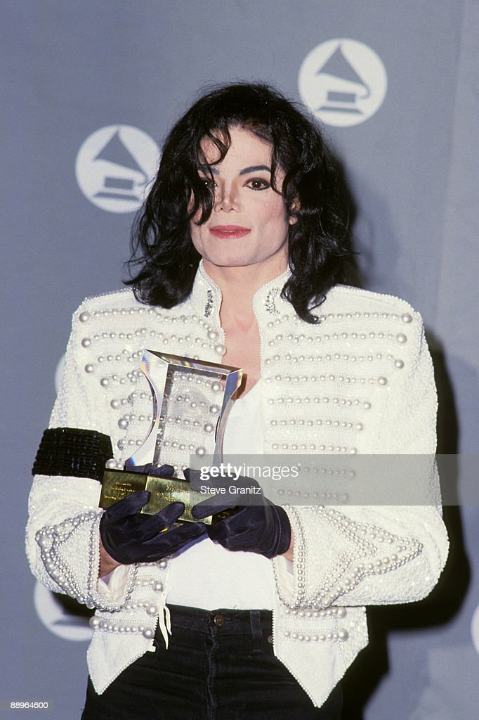 Michael Jackson at the The 35th Annual GRAMMY Awards held at the Shrine Auditorium on February 24, 1993 in Los Angeles, California. Photo by Steve Granitz/WireImage)