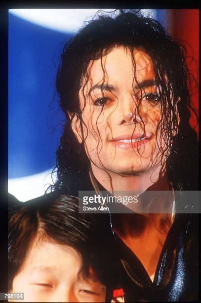 Michael Jackson attends at a Pepsi press conference February 3 1992 in New York City Entertainer Jackson accepted the largest individual sponsorship...