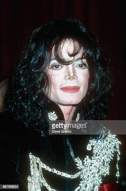 Michael Jackson attends 'Happy Birthday Elizabeth Taylor A Celebration of Life' held at The Pantages Theatre on February 16 1997 in Los Angeles...