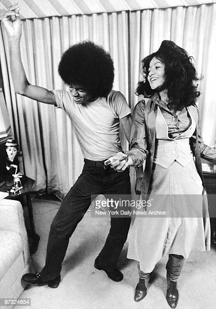 Michael Jackson dances with his 21yearold sister LaToya in apartment they share on the East Side Michael had just left the Jackson Five and was out...
