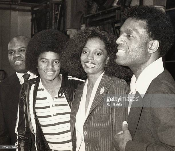 Michael Jackson Diana Ross and Nipsey Russell