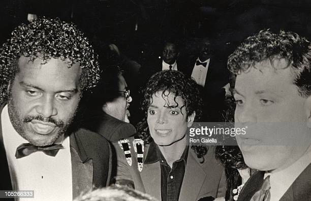 Michael Jackson during 44th Annual United Negro College Fund Awards at Sheraton Centre in New York City New York United States