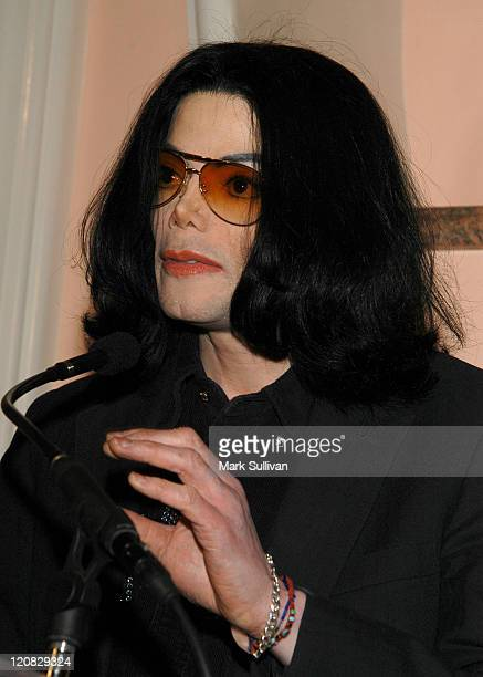 Michael Jackson during An Evening of Love Light and Laughter to Benefit Lupus LA and Lupus Research at Beverly Hills Hotel in Beverly Hills...