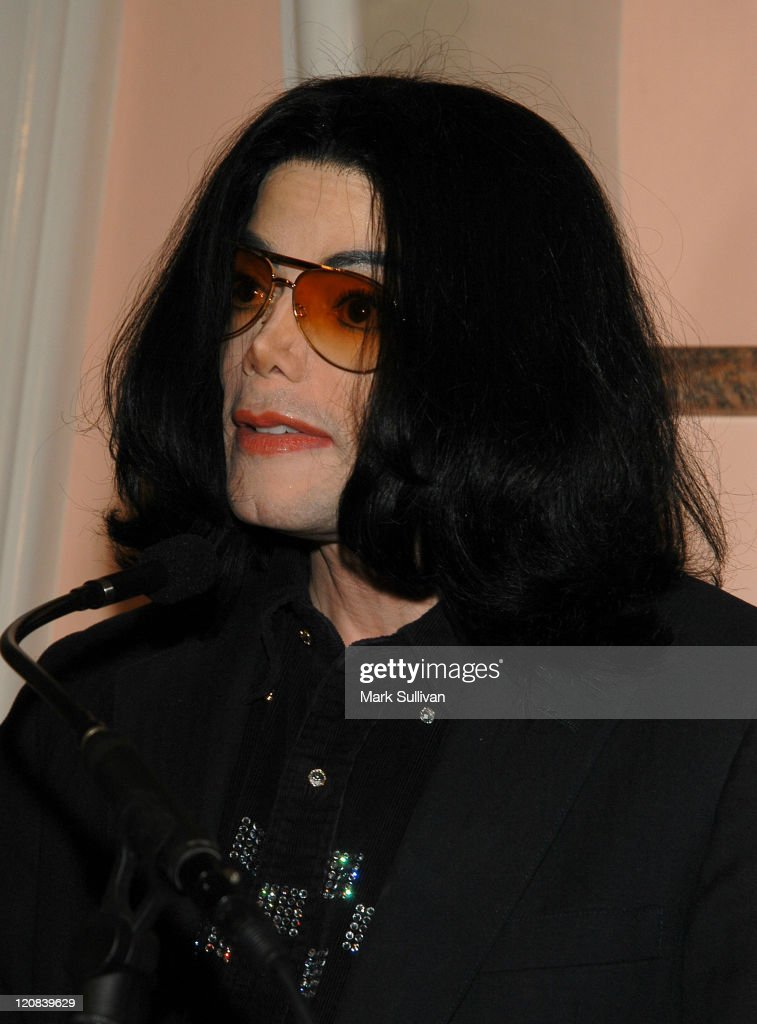 Michael Jackson during An Evening of Love, Light and Laughter to Benefit Lupus LA and Lupus Research at Beverly Hills Hotel in Beverly Hills, California, United States.