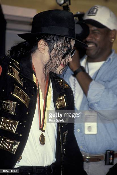 Michael Jackson during Guinness Book of Records Lifetime Achievement Award Presented to Michael Jackson in Hollywood California United States