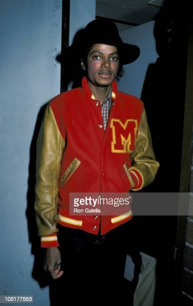 Michael Jackson during Michael Jackson Leaving Hemsley Palace February 91984 in New York City New York United States