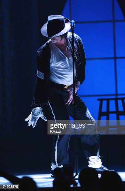 Michael Jackson during Michael Jackson's 30th Anniversary Celebration Show at the Madison Square Garden in New York City New York