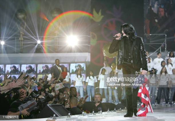 Michael Jackson during World Music Awards 2006 Show at Earls Court in London Great Britain