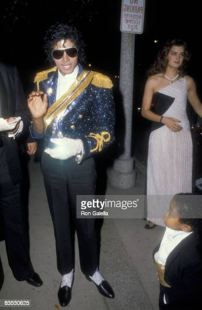 Michael Jackson Emmanual Lewis and Brooke Shields