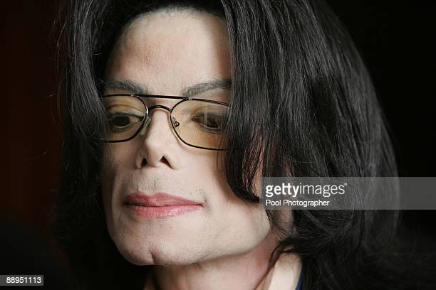 Michael Jackson exits a courtroom in Santa Maria California March 30 2005 The mother of Michael Jackson's accuser refused an offer of money after the...