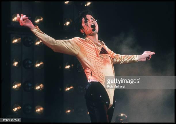 Michael Jackson, Feijenoord Stadium, de Kuip,Dangerous Tour, Rotterdam, Netherlands, 1st July 1992.