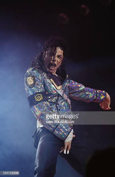 Michael Jackson in concert In Toulouse France On September 161992