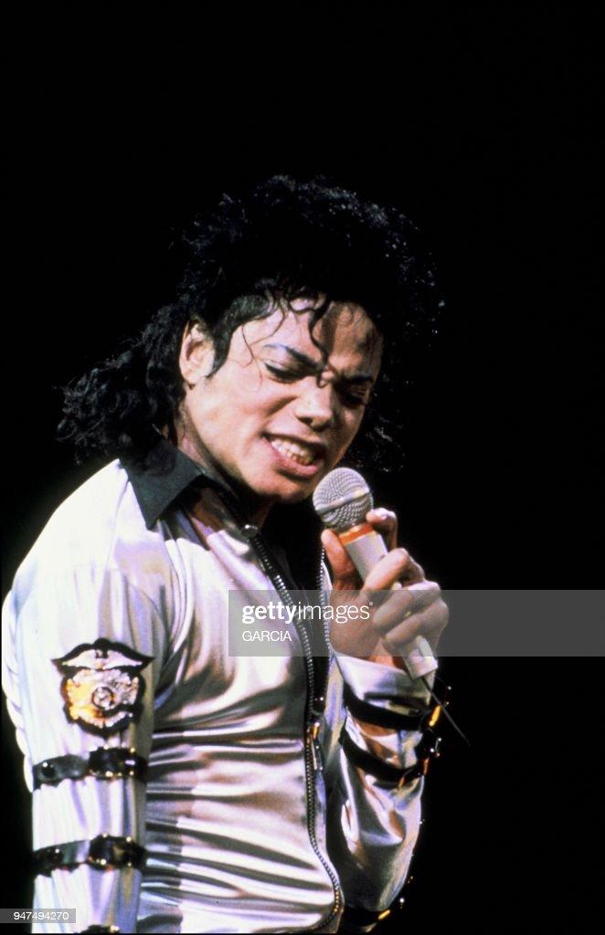 Michael Jackson in Roma, 1988.