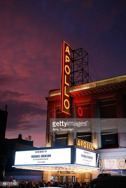Michael Jackson is remembered at the The Apollo Theater on June 26 2009 in New York City Singer Michael Jackson died of a heart attack in Los Angeles...