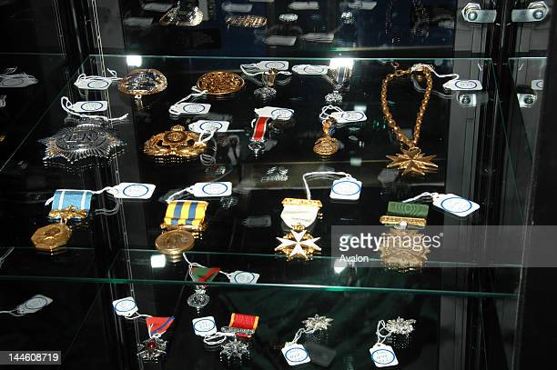 Michael Jackson Metals from Neverland