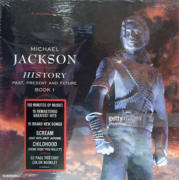 Michael Jackson never opened HIStory record album at the Auction Preview At Bonhams Butterfields on December 18 2009 in Los Angeles California
