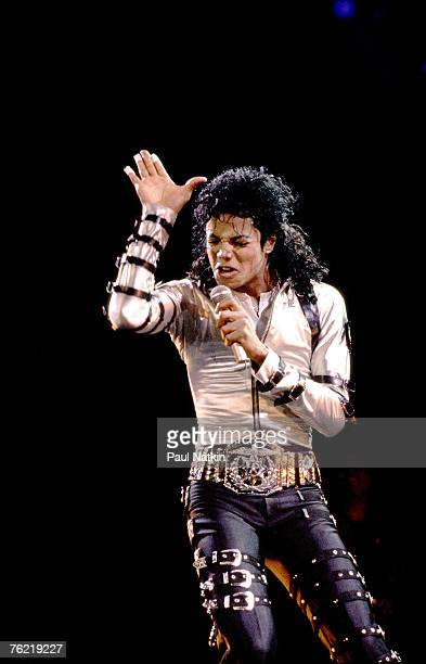 Michael Jackson on 4/19/88 in Chicago Il
