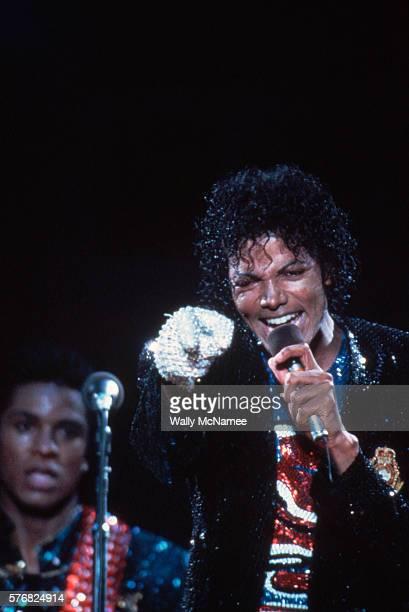 Michael Jackson on Victory Tour