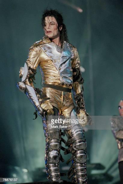 Michael Jackson Performing Live At Wembley Stadium London