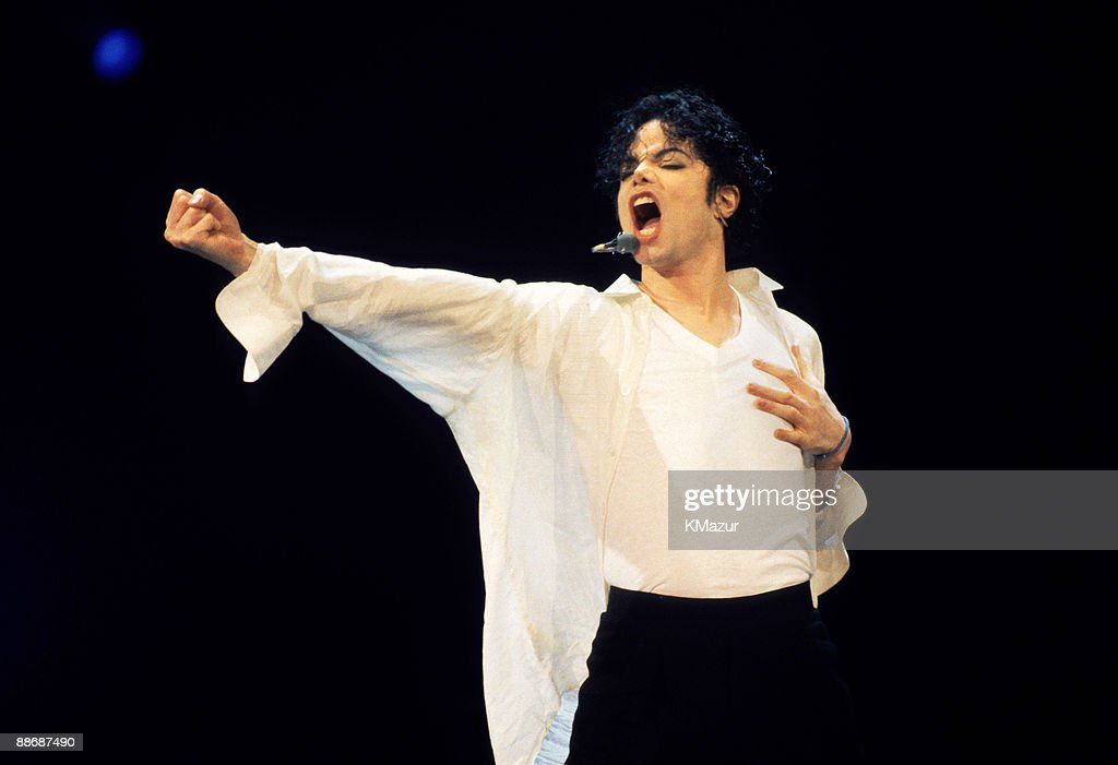 Michael Jackson performs at the 12th Annual MTV Video Music Awards at Radio City Music Hall in New York City on September 7, 1995.