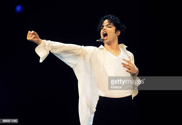 Michael Jackson performs at the 12th Annual MTV Video Music Awards at Radio City Music Hall in New York City on September 7 1995