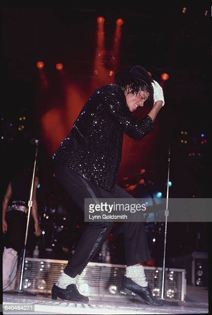 Michael Jackson performs during The Jackson Five's 1984 Victory Tour